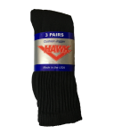Mens Black Crew Sock Size 10-13