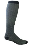 Compression Socks - Black Chevron (sold by pair)